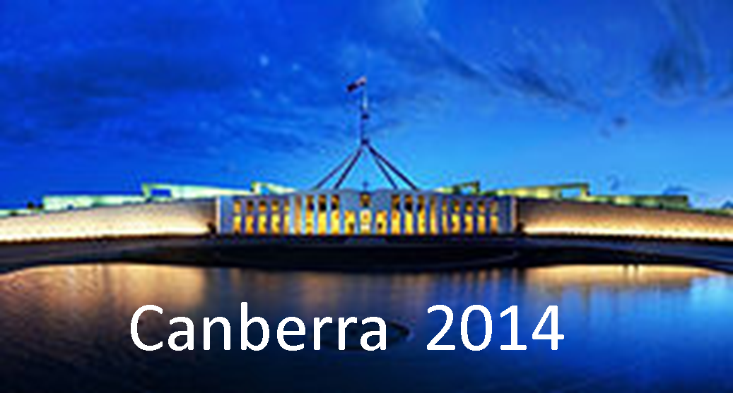 Canberra Tour 2014